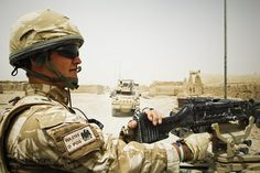 RAF Regiment Soldier on Patrol at Kandahar by Defence Images, via Flickr