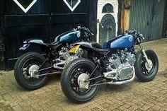 Yamaha Virago café racers  - http://www.motorcyclespecs.co.za/