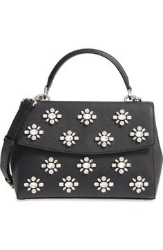 MICHAEL Michael Kors Ava Embellished Satchel available at #Nordstrom