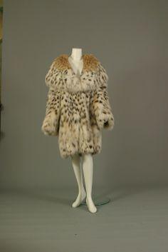 REBECCA, Exceptional Montana lynx fur coat, circa 2000
