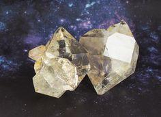 ハーキマーダイアモンド原石 Herkimer diamond 232g Hariqua(ハリックァ)パワーストーンジュエリー www.power-stones.jp