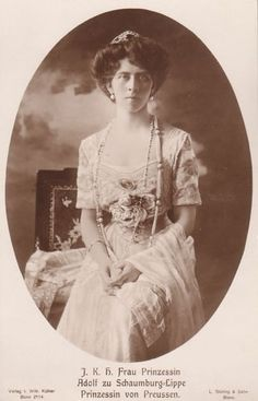 After Princess Victoria's first husband, Adolf, died in 1916, she later re-married Alexander Zoubkoff on 19 November 1927