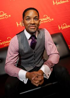 Madame Tussauds in Las Vegas revealed a new Will Smith wax figure in honour of their Black History Month celebration Famous Celebrities, Celebs, The Pursuit Of Happyness, After Earth, Enemy Of The State, Prince Of Bel Air, Wax Museum, Madame Tussauds, Black Series