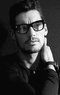 DAVID GANDY those glasses slay me.