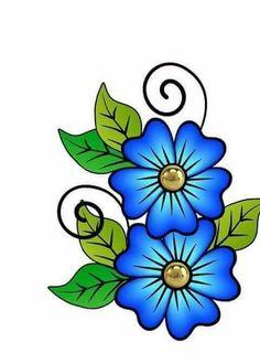 DIY Diamond Painting Full Diamond Embroidery Landscape Sale Diamond Mosaic Cross Stitch Set Home Decor Beading Patterns, Flower Patterns, Flower Designs, Folk Embroidery, Embroidery Patterns, Fabric Paint Designs, Painted Flower Pots, Flower Clipart, Fabric Painting