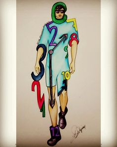 #illustration #skechbook #zaman #time #men #tasarım #drawing #artist #tasarım #fashion #moda
