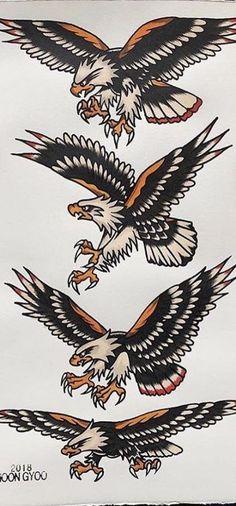 Best Tattoo Bird Old School Colour Ideas Best Tattoo Bird Old School Colour Ide. - Best Tattoo Bird Old School Colour Ideas Best Tattoo Bird Old School Colour Ideas This - Traditional Chest Tattoo, Traditional Eagle Tattoo, Traditional Tattoo Old School, Traditional Tattoo Design, Neo Traditional, American Traditional Tattoos, Eagle Chest Tattoo, Eagle Tattoos, Leg Tattoos