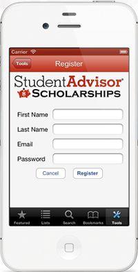 Find Free Money for College – Scholarship Advisor App by StudentAdvisor