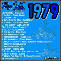 I was 9 years old. This is the year my mom died- I was 9 years old. This is the year my mom died I was 9 years old. This is the year my mom died - Music Hits, 70s Music, Music Songs, My Childhood Memories, Sweet Memories, Disco Party, My Sharona, Ed Vedder, Nostalgia