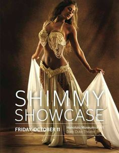 Honolulu, HI Go on a Middle Eastern journey through dance at the Hawaii Belly Dance Conventions 9th Annual Shimmy Showcase. Visiting performers include WildCard BellyDance from California, and Colorados Sadie … Click flyer for more >>