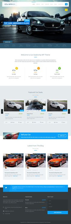 Automan is Premium full Responsive HTML5 Car Dealership template. Retina Ready. AngularJS. Bootstrap Framework. Google Map. Test free demo at: http://www.responsivemiracle.com/cms/automan-premium-responsive-advanced-car-dealer-html5-template/