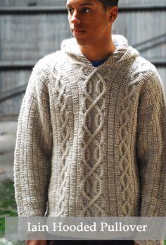 Iain Hooded Pullover