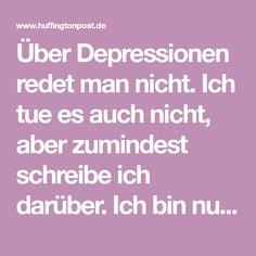 Über Depressionen redet man nicht. Ich tue es auch nicht, aber zumindest schreibe ich darüber. Ich bin nur eine Mitbetroffene und nicht erkrankt, aber diese Dunkelheit frisst jeden. Lange dachte ich,...