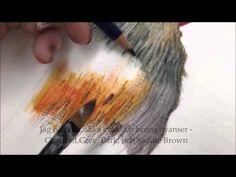 Inktense Pencils On Fabric - YouTube. Jacque Holmgren. Best Inktense & fabric work I've ever seen.