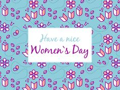 Have a nice Woman`s Day! #dzienkobiet #womansday2016 #womansday #women #woman #pattern