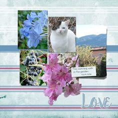 Walk in the Garden - Weekend Wildcard Challenge - Gallery - Scrap Girls Digital Scrapbooking Forum