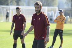 Dopo la trasferta di Napoli gli uomini di Garcia sono immediatamente tornati al lavoro in vista della sfida di Champions League contro il Bayern Monaco