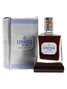 Unhiq XO is a dark molasses-based rum from the Dominican Republic. The name 'malt' refers to honey and indicates this is a sweet style of rum.