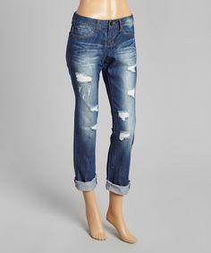 Look at this #zulilyfind! David Kahn Rake Nikki Weekender Jeans by David Kahn #zulilyfinds