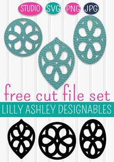 Where to find free cut files for making earrings Quick Links: Tips and tricks for cutting faux leather earrings How To Make . Diy Leather Earrings, Leather Jewelry, Diy Earrings, Leather Projects, Leather Crafts, Bijoux Diy, Cricut Creations, How To Make Earrings, Vinyl Projects