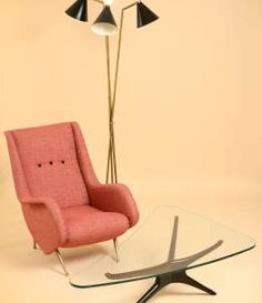 50s lounge chairs and floor lamp | l'arabesque design gallery ... - Larabesque Lampade
