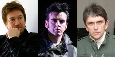 Happy birthday today to Alan Wilder of Depeche Mode, Simon Gallup of The Cure and Mike Joyce of The Smiths