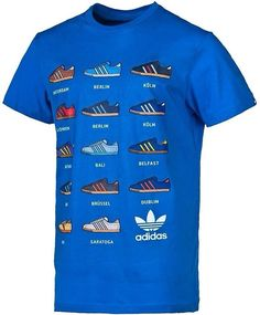 adidas trainers t shirt