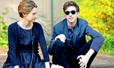 Hazel and Isaac - Shailene Woodley and Nat Wolff in The Fault in Our Stars Hazel Grace Lancaster, Tfios, Divergent, Shailene Woodly, John Green Books, Augustus Waters, Jenny Han, Looking For Alaska, Nicholas Sparks