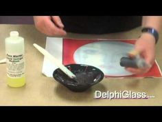 Glass Fusing: How to Paint with Glass Frit