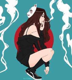 kang kitsune oh dont smoke ok kids? many of you asked me for more of the animal gang so here it is! also comment belo kang kitsune oh dont smoke ok kids? many of you asked me for more of the animal gang so here it is! also comment belo Anime Art Girl, Manga Art, Manga Girl Drawing, Aesthetic Art, Aesthetic Anime, Character Inspiration, Character Art, Fanarts Anime, Cute Drawings