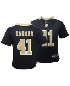fa047db9e35 Nike Alvin Kamara New Orleans Saints Game Jersey, Toddler Boys (2T-4T) -  Black 2T