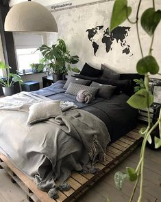 28 Most Exciting Home Accessories Ideas For Bedroom For You : Make Your Bedroom Best. - Decoration Fireplace Garden art ideas Home accessories Dream Rooms, Dream Bedroom, Home Decor Bedroom, Warm Bedroom, Bedroom Ideas, Bedroom Colors, Diy Bedroom, My New Room, House Rooms