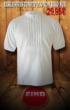 Das Zunft Polo von Eiko. Mit diesem zünftigen Polo, können sich Dachdecker und Zimmerer auch im beruflichen Alltag traditionsbewusst kleiden. Das Zunft Polo von Eiko wird aus einem 240g schweren Baumwoll Piqué, welches extra für dieses Polo angefertigt wird, hergestellt. Der Firma Eiko ist es so gelungen, ein robustes Polohemd in traditioneller Zunftoptik, zu fertigen. Überzeugen Sie sich selbst von diesem Polo: http://www.baucore.com/zunftkleidung/oberbekleidung/hemden/eiko-zunftpolo/a-821/
