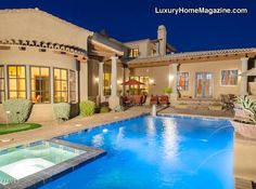 Luxury Home Magazine Arizona: Estate with Golf Course Views