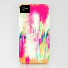 Electric Haze iPhone Case by Amy Sia at Society 6
