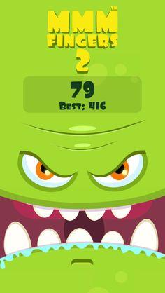 I scored 79 points in Mmm Fingers 2! Can you beat my score? #mmmfingers2