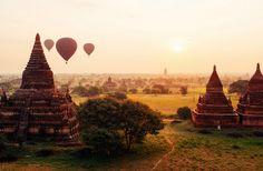 Bagan, a incrível cidade com mais de 2000 templos