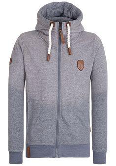 d0de6b1947b5c Casual through everyday life in a Naketano sweat jacket for men