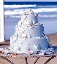 Cake could use one layer for shower cake for beach wedding