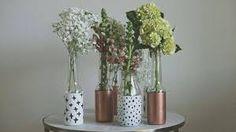 Resultado de imagen para botellas como floreros