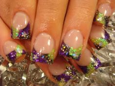 Amazing Tips For The Best Summer Nails – NaiLovely Purple Nail Designs, French Nail Designs, Acrylic Nail Designs, Nail Art Designs, Lime Green Nails, Purple Nails, May Nails, Hair And Nails, Cute Nails