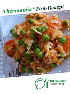 Vegetable rice from kimniklas. A Thermomix ® recipe from the side dishes category at www.de, the Thermomix ® Community. vegetable rice Bianca Kreis Thermomix Vegetable rice from kimniklas. A Thermomix ® recipe from the side d Vegetable Soup Healthy, Vegetable Rice, Vegetable Recipes, Rice Recipes For Dinner, Raw Food Recipes, Vegetarian Recipes, Healthy Recipes, Asian Recipes, Spaghetti Recipes