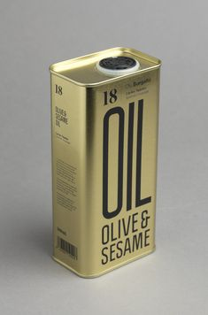 OLIVE & SESAME OIL (Packaging) by Lo Siento Studio, Barcelona