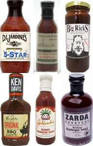 BBQ Sauce Sampler  - Mother's Day Gifts