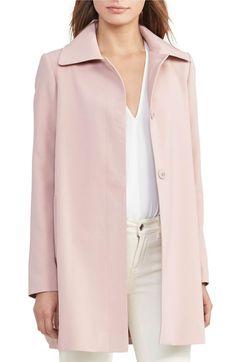 Pink Crepe Coat