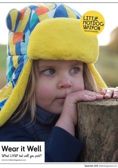 f5698d392ee01 Little Hotdog Watson Latest Kids Blog on Winter Hats. Which One Will You  Pick