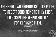 Change them!
