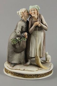 Capodimonte Porcelain  - Made in Italy.