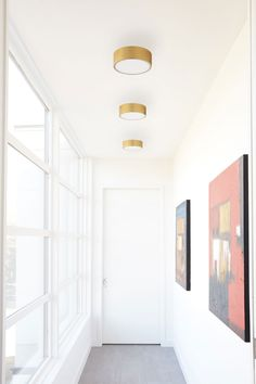 Peepers Ceiling / Wall Light Fixture by Oxygen Low Ceiling Lighting, Entry Lighting, Closet Lighting, Living Room Lighting Ceiling, Kitchen Ceiling Lights Modern, Flat Ceiling Lights, Entry Way Lighting Fixtures, Ceiling Mounted Light, Modern Bedroom Lighting