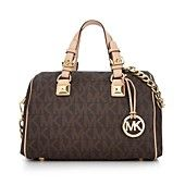 MICHAEL Michael Kors Handbag, Grayson Monogram Medium Satchel